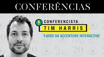 Tim Harris: Conferencista do El Ojo de Iberoamérica