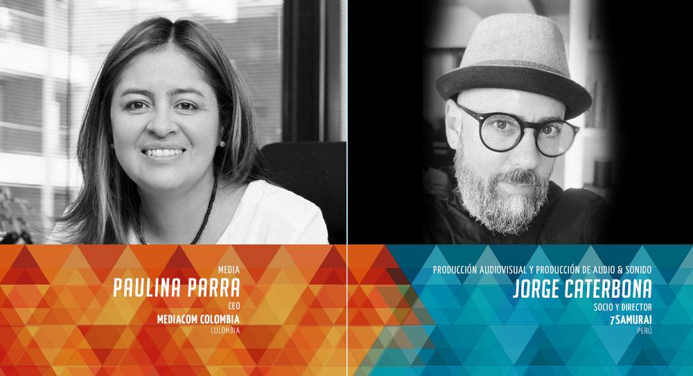 Paulina Parra y Jorge Caterbona Presidentes de El Ojo de Iberoamerica