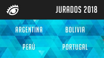 #ElOjo2018 presenta a todos los Jurados de Argentina, Bolivia, Perú y Portugal