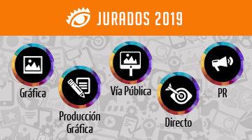 El Ojo presenta a los Jurados de El Ojo Gráfica, Producción Gráfica, Vía Pública, Directo y PR