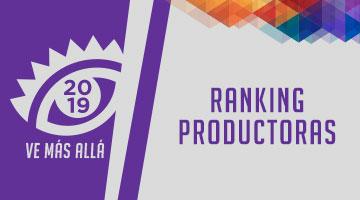 El Ranking con las Mejores Productoras de Iberoamérica